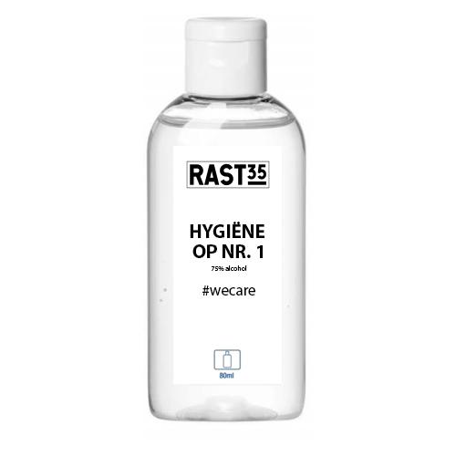 Desinfecterende handgel 80 ml 75% alcohol